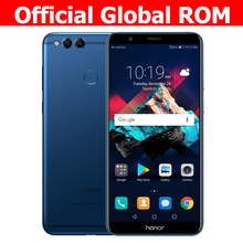 Global ROM Huawei Honor 7X 4G 32G Mobile Phone Octa Core Dual Rear Camera 3340mAh 5.93 inch 2160*1080P Fingerprint(China)
