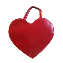 Cute Red Peach Heart Women Handbag Lovely Pu Leather Messenger Bags for Women Ladies Tote Bag CrossBody Shoulder Bags Black(China)