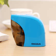 New Touch Switch Automatic Pencil Sharpener Home Office School Student Desktop Electric Pencil Sharpeners(China)