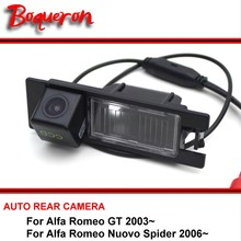 For Alfa Romeo AR GT / Nuvola Spider 2003~ CCD HD Night Vision Waterproof Car Camera Reversing Reverse Camera rear view camera