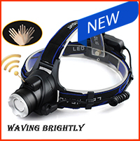 LED Cree  XM L-L2 Headlight led headlamp zoom head torch adjustable head lamp accessories use 18650 battery front night lights