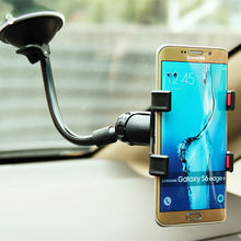 360 Rotatable Car Phone Holder Stand Mount Dashboard Window Display Universal for iphone 7 plus 6s for Samsung Note 7/6 s7 edge