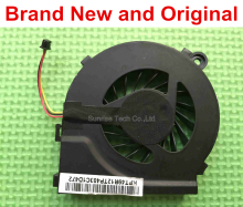 New original cpu cooling fan for HP CQ42 G4 G6 CQ56 G42 CQ62 cooler 055417R1S  646578-001 KSB06105HA FAR1200EPA DFS531105MC0T F9