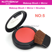 Kimisky No.5 Blush Modified  Face Blush 1pcs Blushes Makeup Blusher Beauty product Make up blush  6g Red Color with box pack