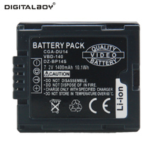 Digital Boy High capacity 1400mAh 7.2v CGA-DU14 CGA DU14 CGADU14 Li-ion Camera Battery Panasonic DU06 DU07 NV-GS10 - China Tianfen Group Co.,LTD store