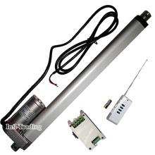 "Heavy Duty 12"" 300mm Stroke Linear Actuator 1000N/220lbs Lift DC 12V Motor W/ Wireless Remote Controller for Nursing Bed Lifting"