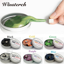DIY Fun Magnetic Putty Slime Playdough Mud Massinha Hand Gum Clay Magnetic Rubber Plasticine Magnet Stress Reliever Toys SL012(China)