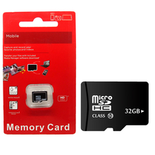 100% pass H2testw memory card red Blister micro sd card 32 GB class 10 TF card mini flash memory 4GB/8GB/16 GB/32 GB(China)