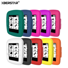 XBERSTAR Shell Cover Case for Garmin Edge 200 500 GPS Cycling Computer Silicone Skin Protective