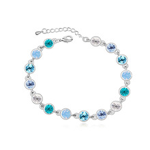Betti Jewelry 3 colors multi crystal bracelet with crystals from Swarovski good for new year christmas wholesale gift bijoux