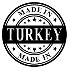 3D funny Made In Turkey Car Stickers 15*15cm cool Motorcycle Decals Vinyl home Car Body Window Stickers Car Styling