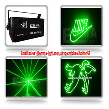 25kpps scanner 1w ilda green laser ,programmable green laser show ,sd card laser light(China)