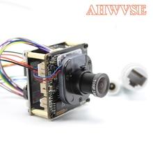 Wide Lens 2.8mm Lens POE DIY IP Camera module Board IRCUT Hi3516E H.265 Indoor Camera Mobile APP XMEYE 1080P 2MP ONVIF