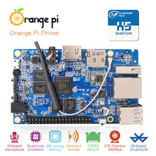 Orange Pi Prime Development Board H5 Quad-core Support linux  and android  Beyond  Raspberry Pi 2 Wholesale is available