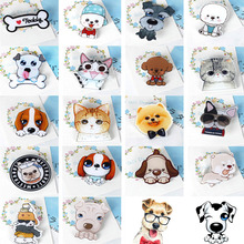 Fashion Hot Funny Charm Cute Cartoon 1pcs Animal Husky Pet Acrylic Collar Pins Badge Corsage Acrylic Badge Cute Cat Dog Broches(China)
