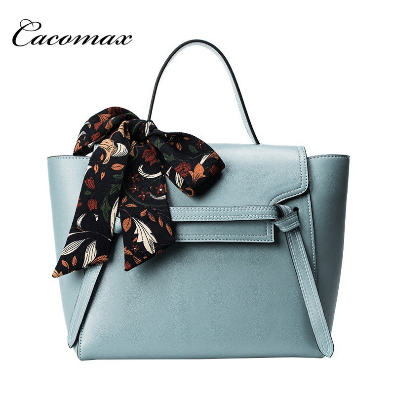 2017 bag tide summer new female bag wild big bag retro handbag commuter scarf shoulder Messenger bag
