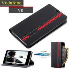 Vodafone Smart V8 Case Flip Luxury Fashion PU Leather Back Fundas Coque Cover For Vodafone Smart V8 With Phone Stand