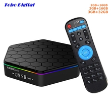 T95Z Plus Plus+ 3GB 32GB Amlogic S912 Android TV Box Android 7.1 4K 2K H.265 2.4G 5G Dual Band WiFi Smart TV BOX Android