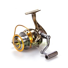 Free Shipping 5.2:1 Big Game Spinning Fishing Reel YY 8000 9000 Surf Casting Saltwater Reels