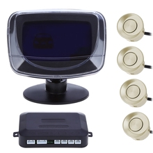 4 Parking Sensor DC12V Auto Reversing Detector with Digital Display and Step-up Alarm Monitor System