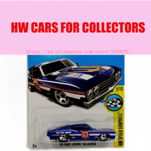 Toy cars 2016 New Hot Wheels 1:64 69th torino talladge car Models Metal Diecast Car Collection Kids Toys Vehicle Juguetes(China)
