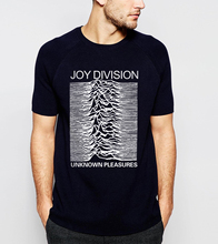 2017 Summer Joy Division Unknown Pleasure Men T-Shirt 100% Cotton High Quality Plus Size  Short Sleeve O-Neck Tops Tee For Fans