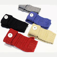 Christmas 18mm snap button jewelry gloves mittens OEM, ODM TX9103(China)