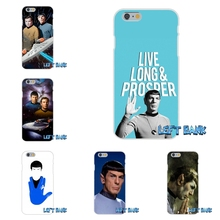 For HTC One M7 M8 A9 M9 E9 Plus Desire 630 530 626 628 816 820 Star Trek Inspired Spock Ear Silicon Soft Phone Case Cover