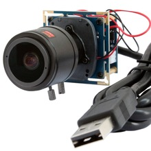 1920*1080p 30fps/60fps/120fps HD Cmos OV2710 2.8-12mm Varifocal lens CCTV Mini board usb camera module for android,linux,Windows(China)