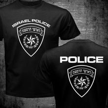 Summer Fashion T-Shirts Special Israel Israeli Police Force Logo Black Navy Blue Printed t shirts camiseta Men Women tShirt Tops