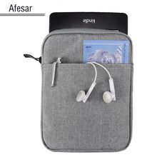 Soft protect universal 6 inch ebook bag case for New Kindle Kobo Glo Aura Touch sony prs ONYX Boox c67ml kepler PocketBook pouch(China)