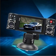 High Quality F600 Dual Lens Car Camera Vehicle DVR Dash Cam Two Lens Video Recorder