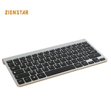AZERTY French Version slim 2.4G Wireless Keyboard for MACBOOK,LAPTOP,TV BOX Computer PC ,android tablet with USB receiver