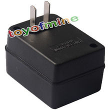 New Black Step Up Voltage Travel Converter AC Adapter 50W 110V US to 220V US free shipping