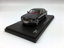 Kyosho 1:43 Bentley Mulsanne Speed 2016 (BLack) Diecast Model Car Simulation Model Mini Vehicle Collectable