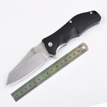 VOLTRON V11 9Cr18Mov blade G10 handle Ball bearing system folding knife utility tactical survival knife outdoor camping EDC tool
