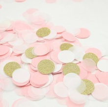 Gold Pink Table Decoration / Wedding Party