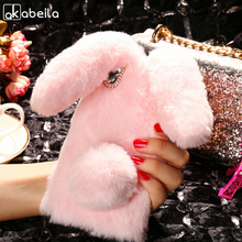 Buy AKABEILA Cover Case Soft Rabbit Fluff Sony Xperia L1 Case Silicon Sony L1 G3311 G3312 G3313 Xperia E6 Dual Case Covers for $5.78 in AliExpress store