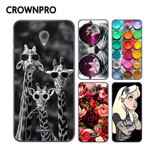 "CROWNPRO 5.0"" Alcatel One Touch Pop 4 Case Cover Painting Soft Silicone TPU Phone Protective Back Alcatel Pop 4 5051D Case"