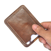 Fashion Retro PU Leather IC / ID Card Holder Slim Wallet Credit Card Holder Money Coin Case Bag Organizer Wholesale noJY12