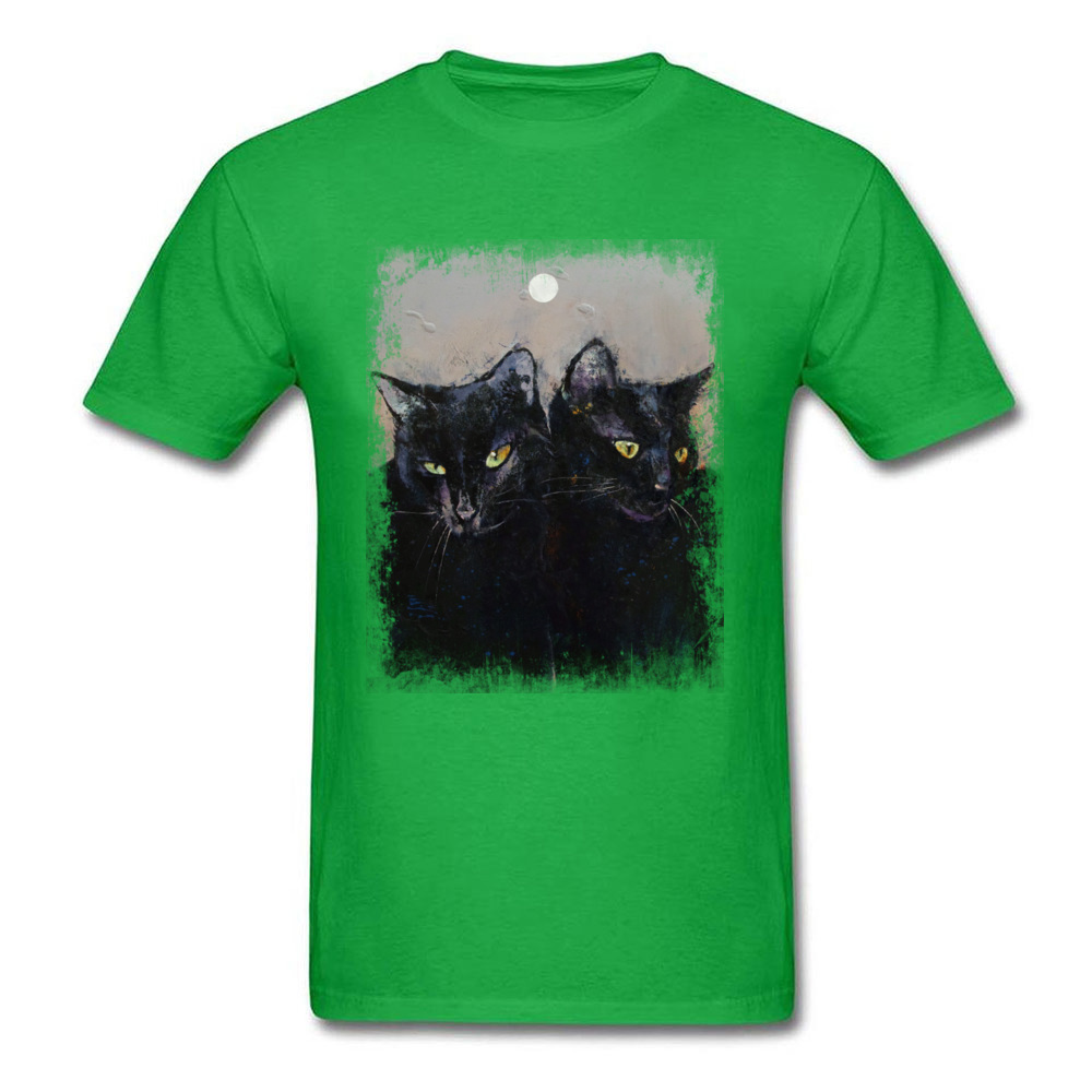 GOTHIC CATS_green
