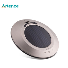 Multifunctional Solar Car Air Purifier With Negative Ion deodorization Function USB Touch Ultrasonic Aroma Diffuser Humidifier
