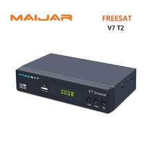 original Freesat V7 Terrestrial HD receiver DVB-T/T2  USB2.0 High Speed support USB HDD dolby AC-3  Logic Channel Number