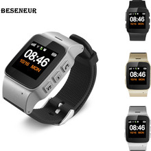 Buy Beseneur D99+ GPS+WIFI+LBS Smart Watch Long Standby Elderly kids Phone SOS Anti-lost Tracking Smartwatch IOS Android phones for $34.94 in AliExpress store