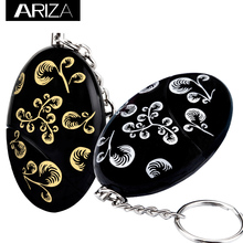 Buy 2018 hot selling black flower Self Defense keychain Alarm Girls Women elderly Security personal alarm keychain for $4.13 in AliExpress store
