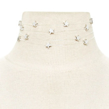 December Europe Ladies Simple Stylish Multilayer Star Necklace Yiwu Manufacturers Direct Marketing Email XL7582