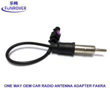 Universal One Way OEM Car Radio Antenna Adapter Fakra signal Auto Stereo Radio DVD Player Free Shipping