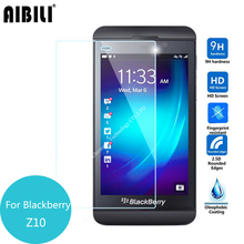 AIBILI For Rim BlackBerry Z10 Tempered Glass Screen Protector 2.5 9h Safety Protective Film on Blackbarry Laguna STL100-3 4G 100