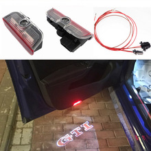 2x AUXITO Car Door Light Projector Logo LED For Volkswagen VW Passat B6 B7 Golf 5 6 7 CC Tiguan Scirocco Jetta MK5 MK6 MK7 EOS(China)