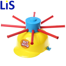 Lis Wet Head Hat Water Game Challenge Wet Jokes And toy funny Roulette Game toys Gags & Practical Jokes For April Fools' Day